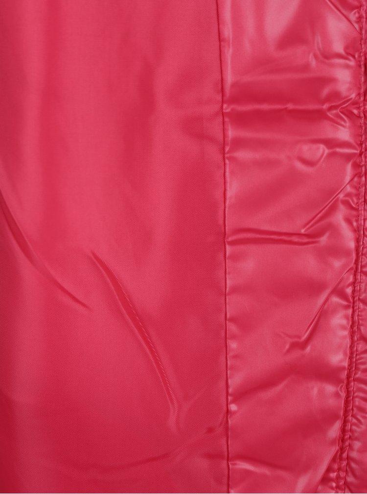Růžová holčičí prošívaná vesta Name it Mylane