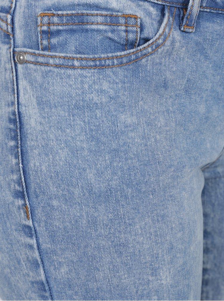 Světle modré skinny džíny Noisy May Eve