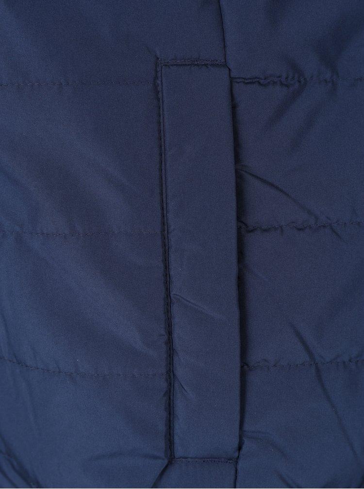 Tmavě modrá prošívaná bunda ONLY & SONS Emil