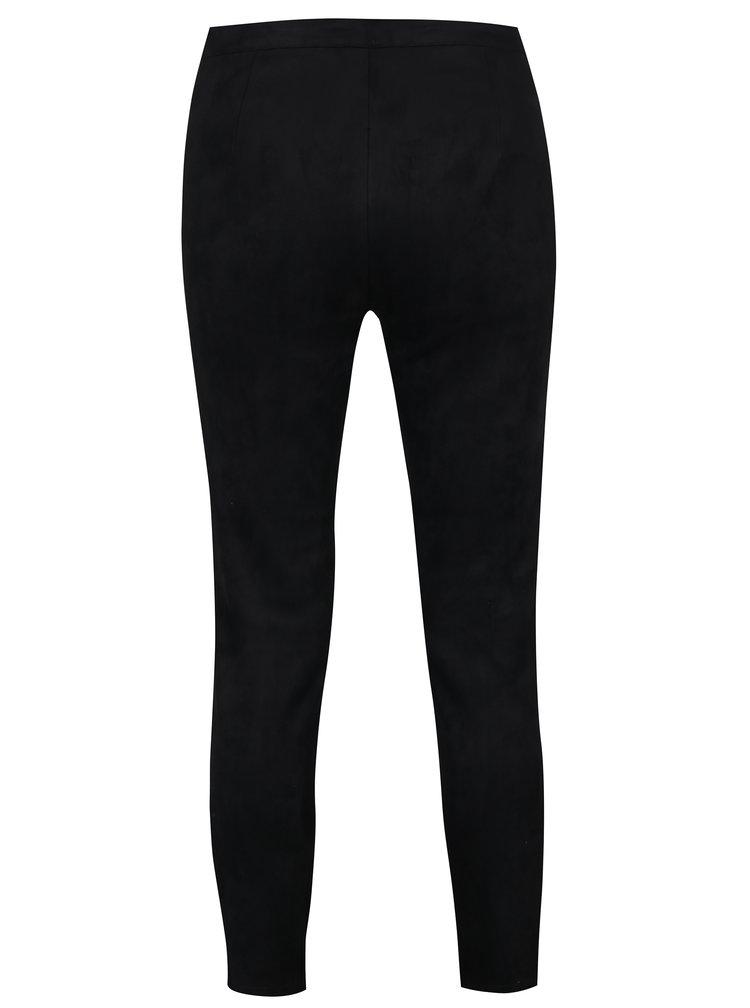 Černé kalhoty VERO MODA Noora