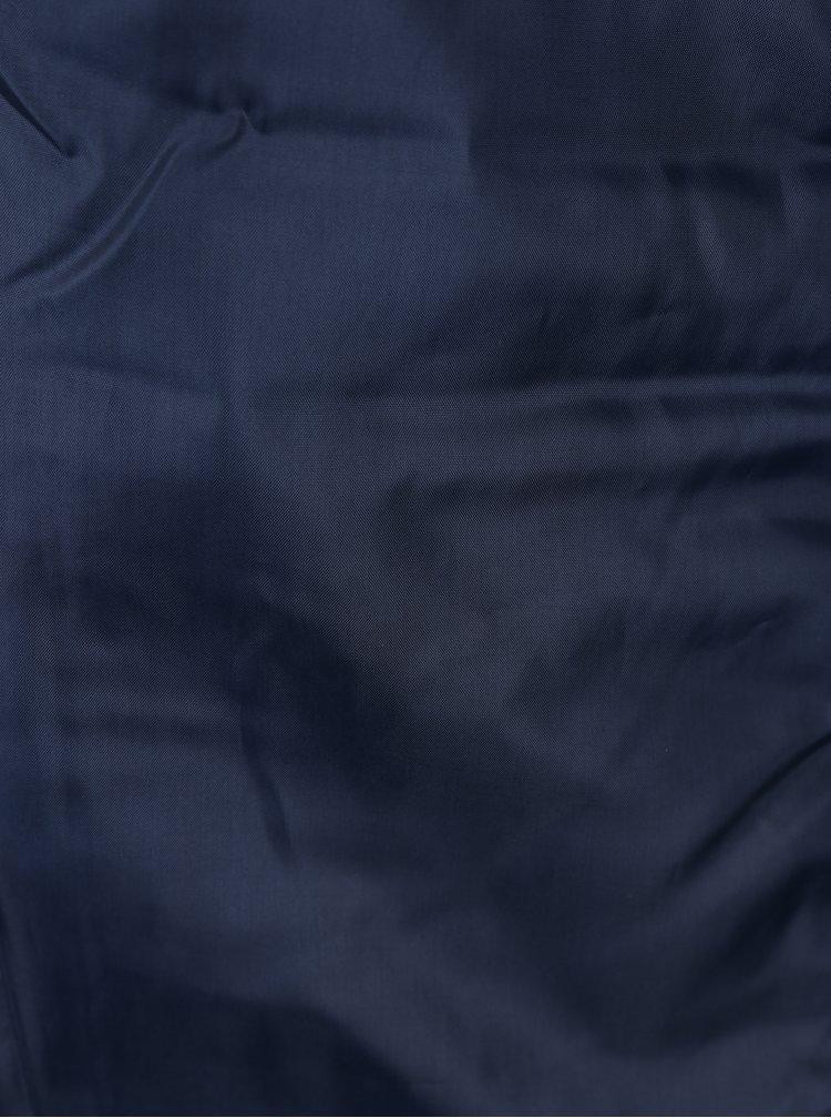 Tmavě modrá klučičí prošívaná bunda Name it Mino