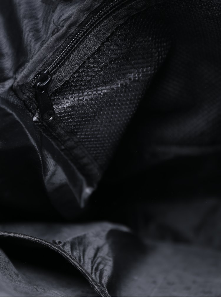 Rucsac unisex negru & alb pentru laptop -  Meatfly Pioneer 2 26 l