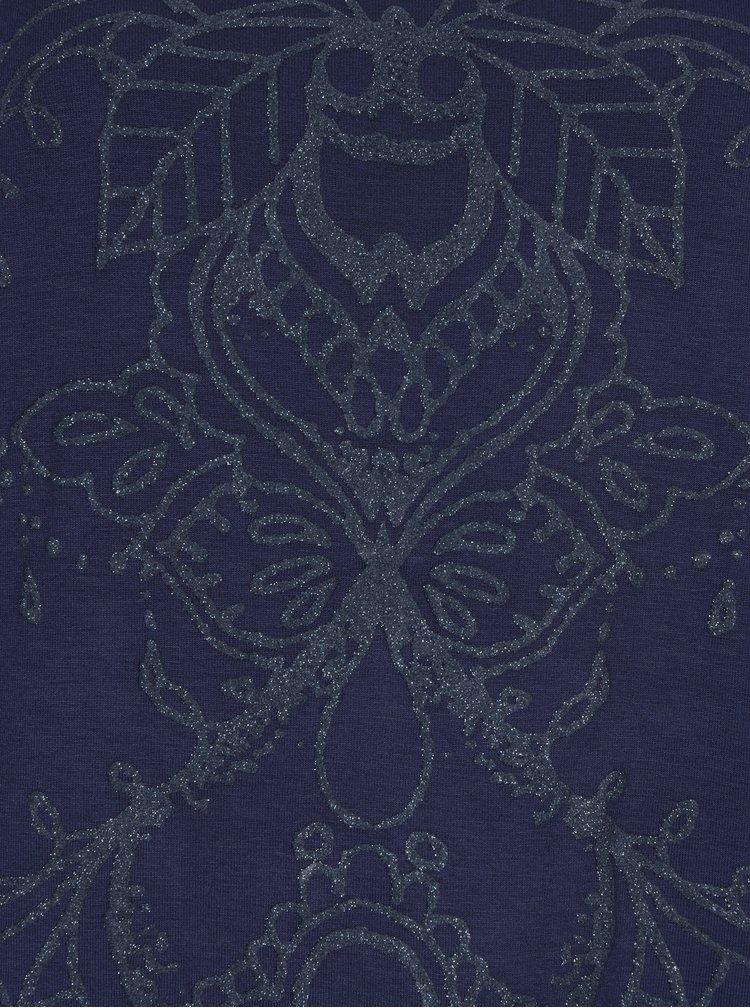 Bluza albastra asimetrica - Desigual Deborah