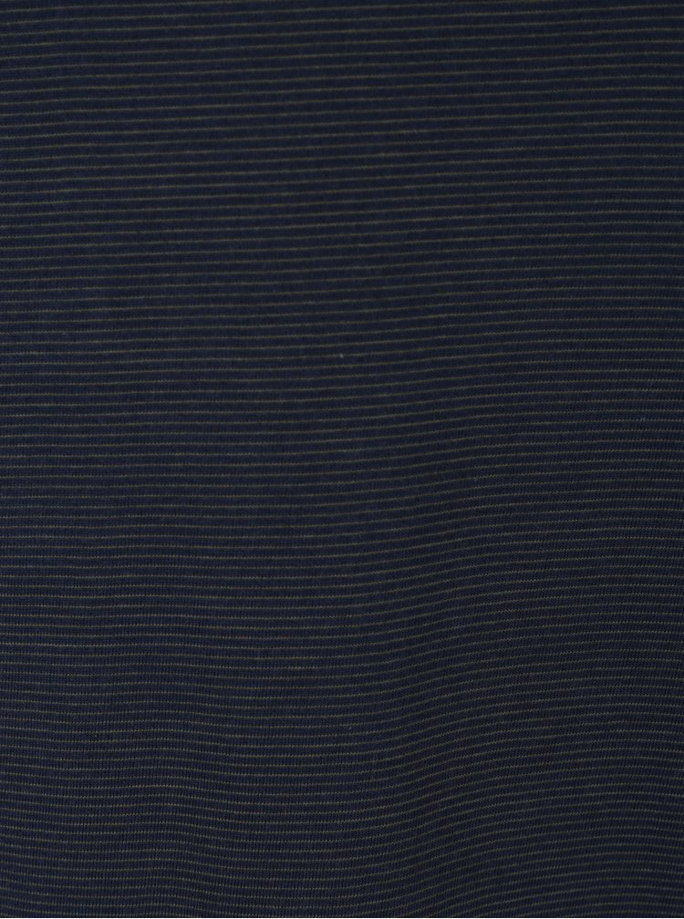 Tricou bleumarin cu dungi Jack & Jones Premium Gladstone