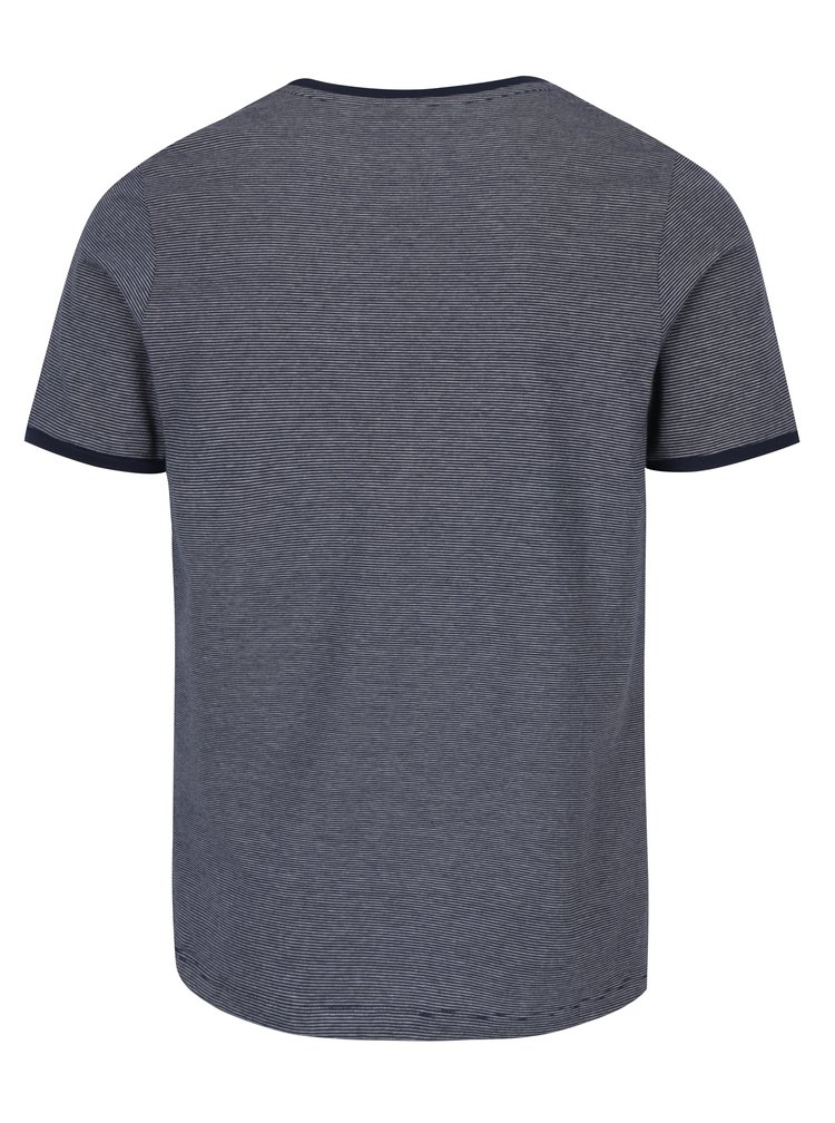 Modré pruhované tričko Jack & Jones Premium Gladstone