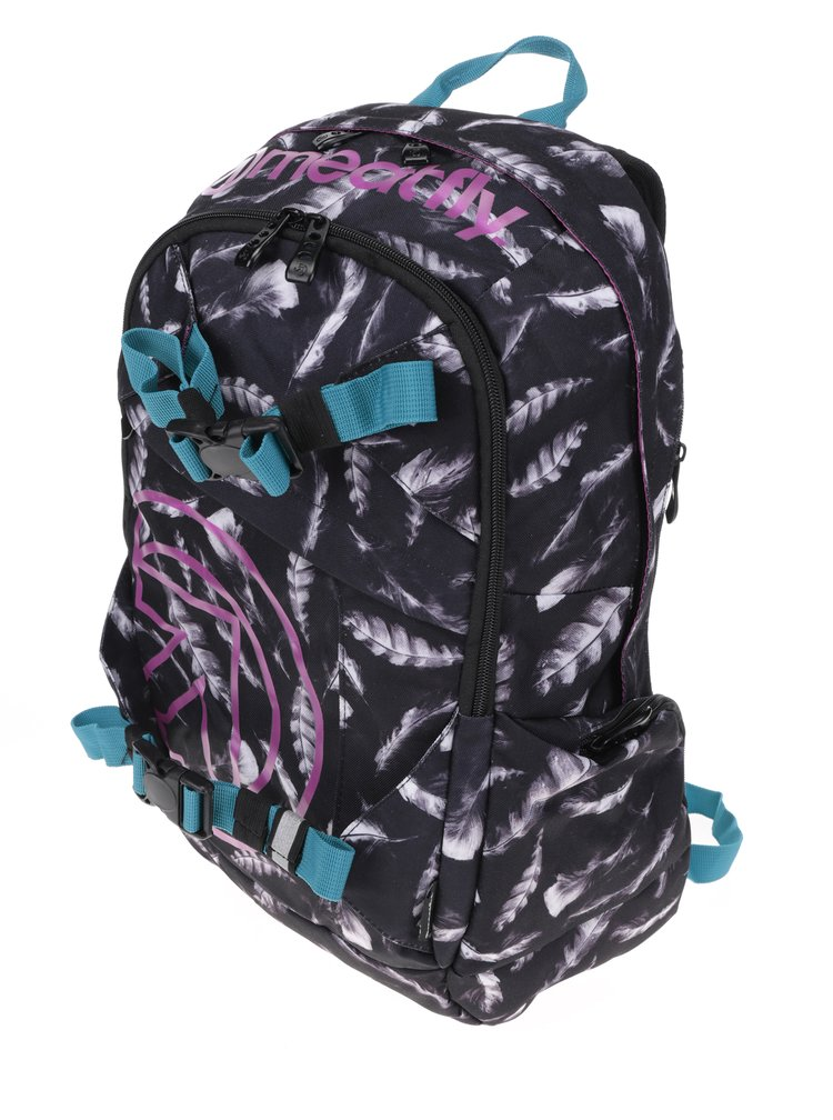 Rucsac unisex gri & roz -  Meatfly Basejumper 3 20 l