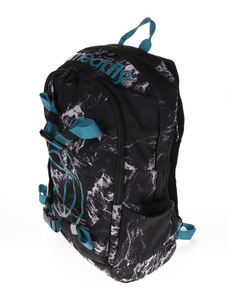Šedo-černý vzorovaný batoh Meatfly Basejumper 3 20 l