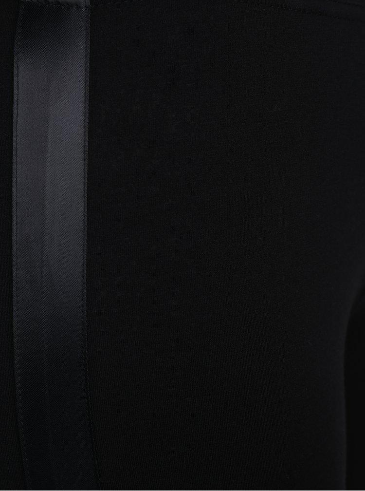 Černé legíny s detaily ONLY Cathrine