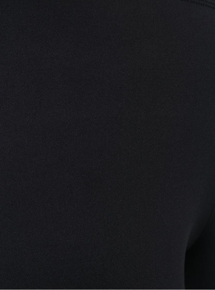 Černé legíny se síťovanými průstřihy ONLY Vamina