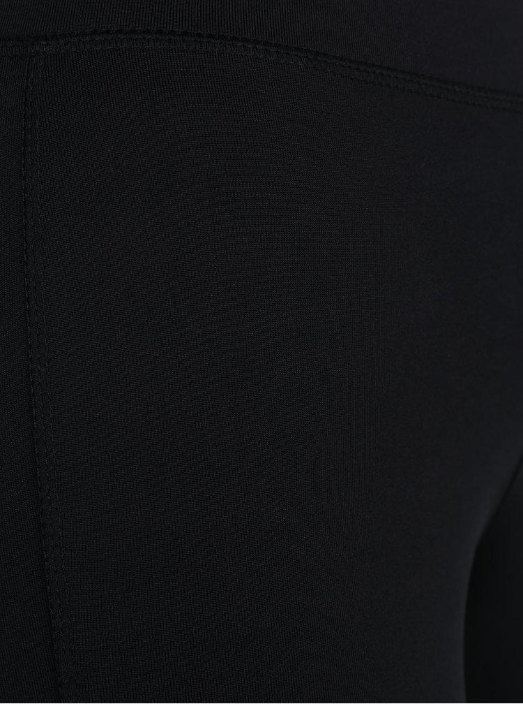 Černé legíny se síťovanými detaily ONLY Vamina