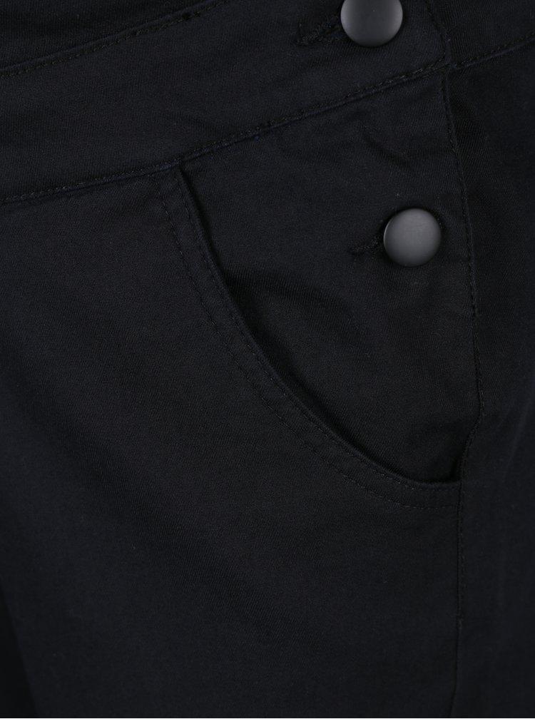 Salopetă neagră din denim pentru femei însărcinate Mama.licious Elly