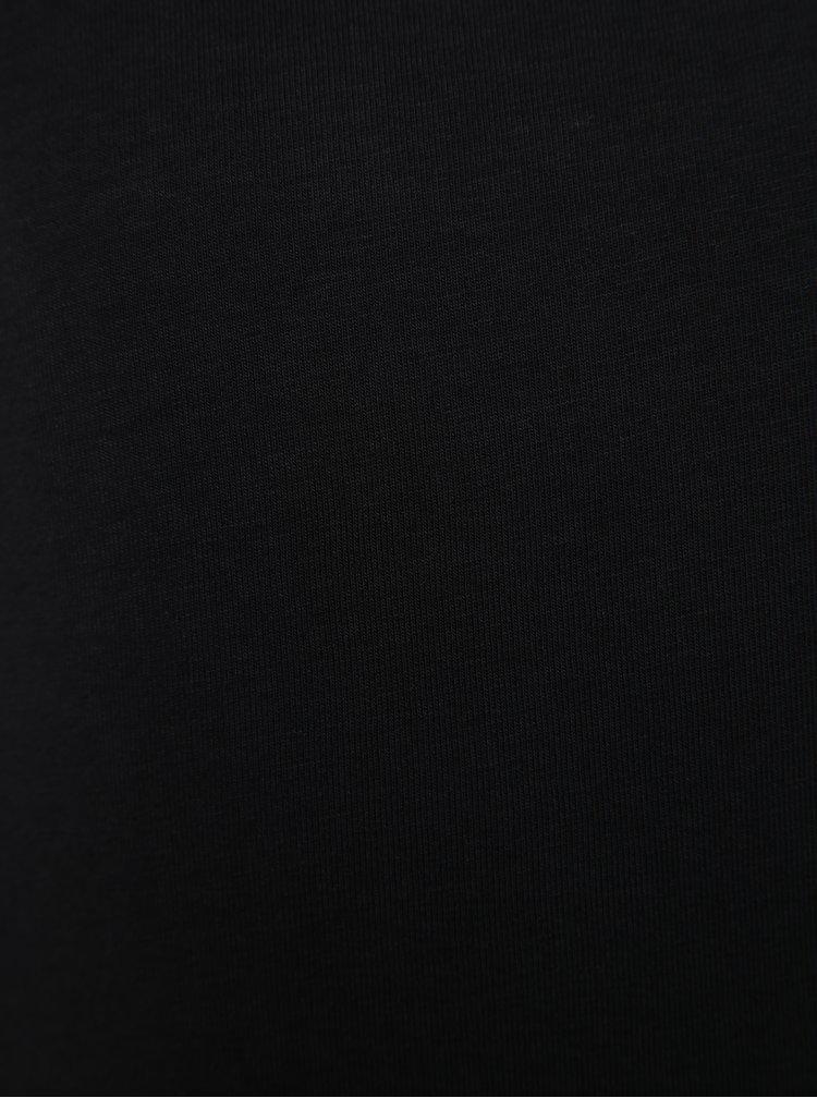 Černé holčičí tričko s dlouhým rukávem name it Viola