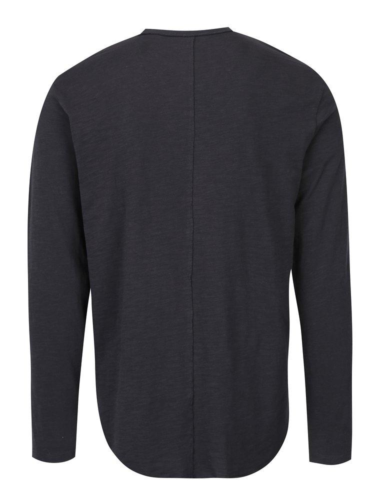 Bluză neagră din bumbac pentru bărbați - ONLY & SONS Alan