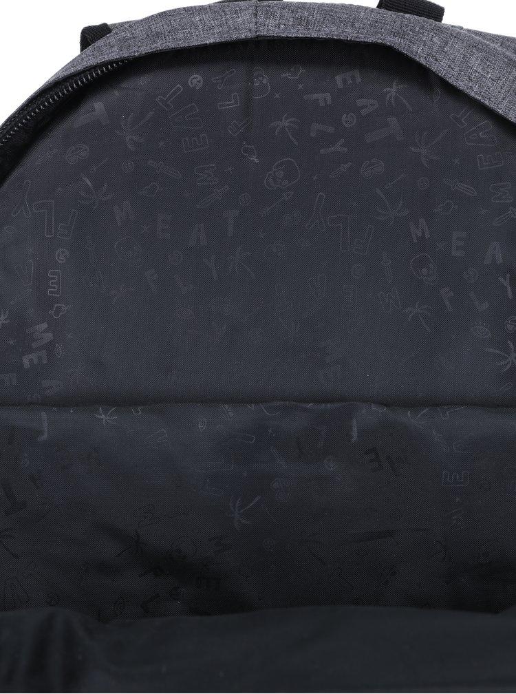 Šedý žíhaný batoh Meatfly Wanderer 28 l