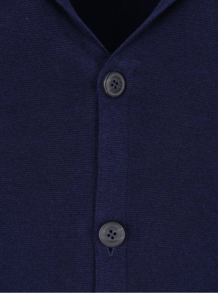 Tmavě modrý kardigan  Jack & Jones Kent
