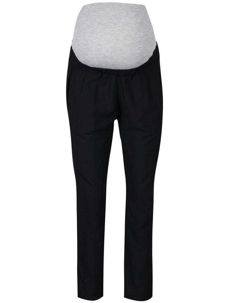 Černé těhotenské kalhoty s kapsami Mama.licious Birna