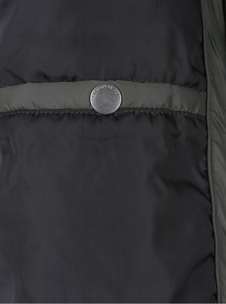 Jacheta matlasata kaki pentru primavara / toamna - Jack & Jones Conrad