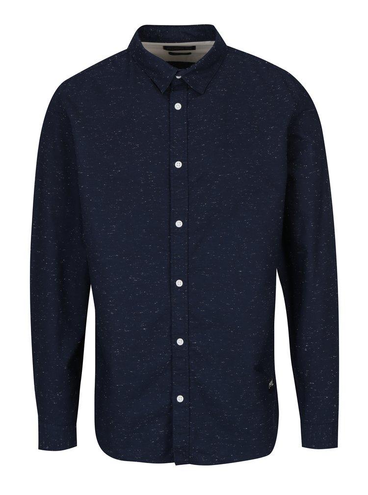 Tmavě modrá žíhaná košile Jack & Jones Field