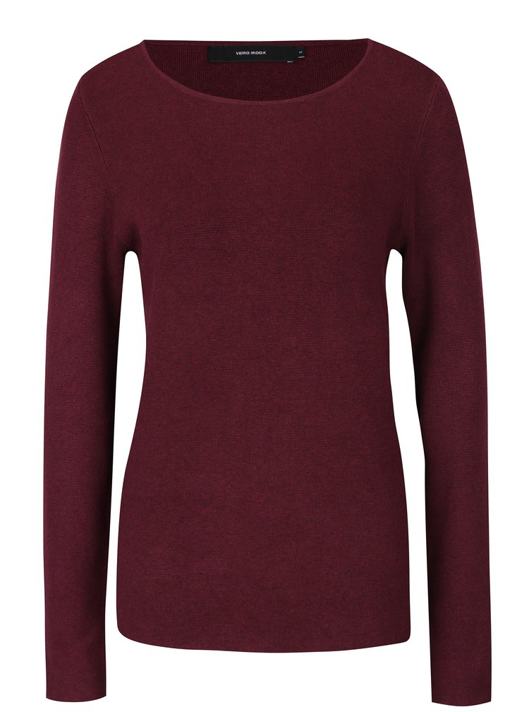 Pulover rosu bordo  VERO MODA Glory