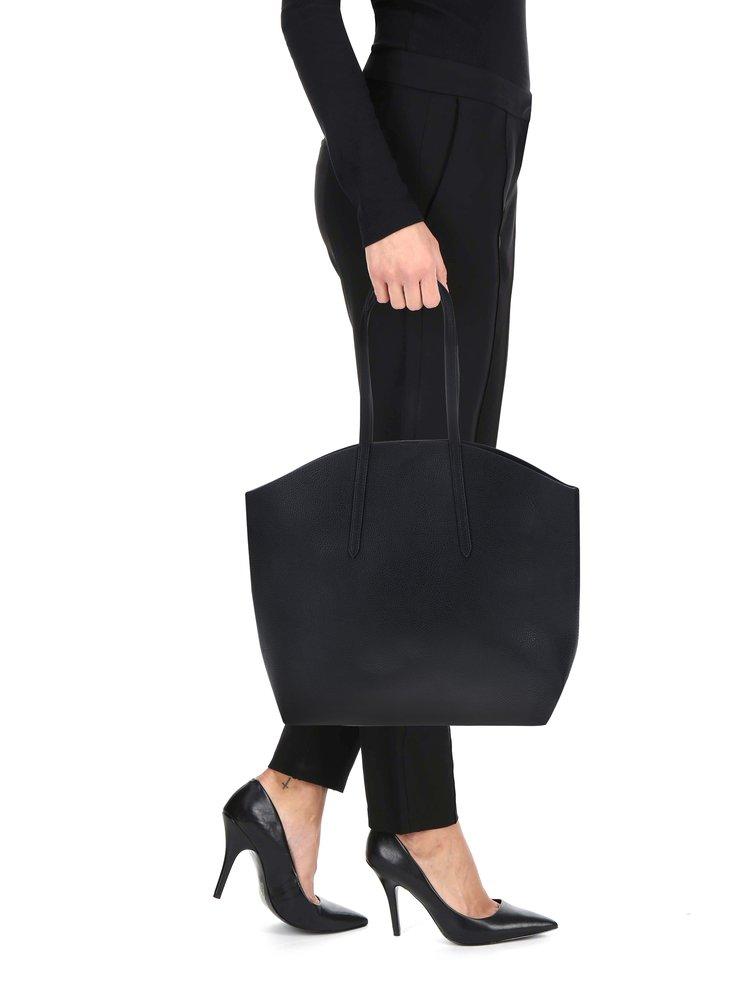 Černý shopper s pouzdrem 2v1 Pieces Noella