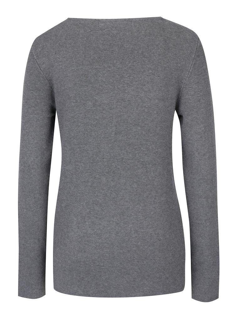 Sivý sveter VERO MODA Glory