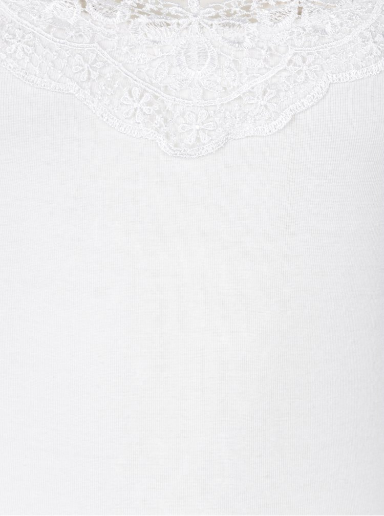 Sada dvou tílek v bílé a černé barvě VERO MODA New Ratli