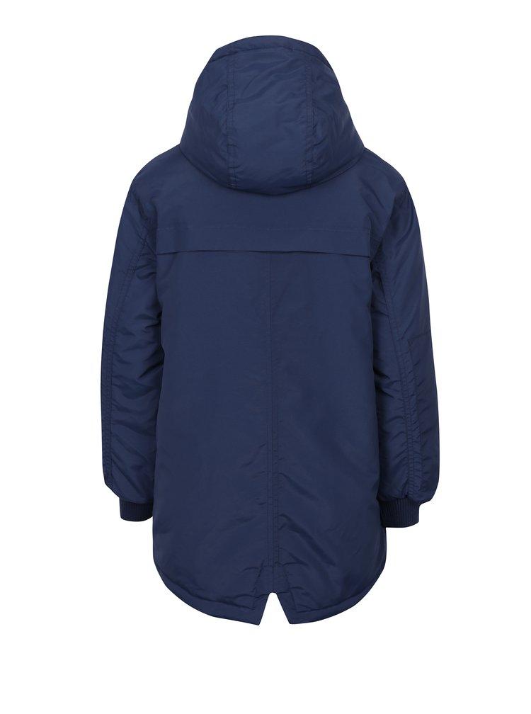 Tmavě modrý klučičí zimní kabát LIMITED by name it Morton
