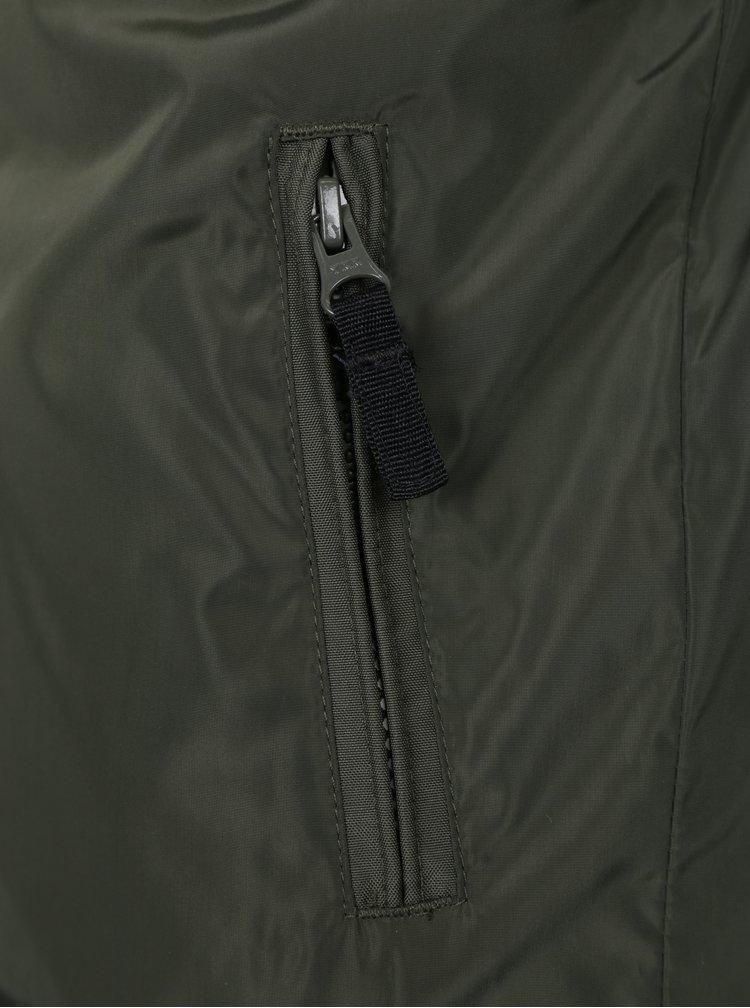 Khaki klučičí bomber s potiskem na zádech LIMITED by name it Marinus
