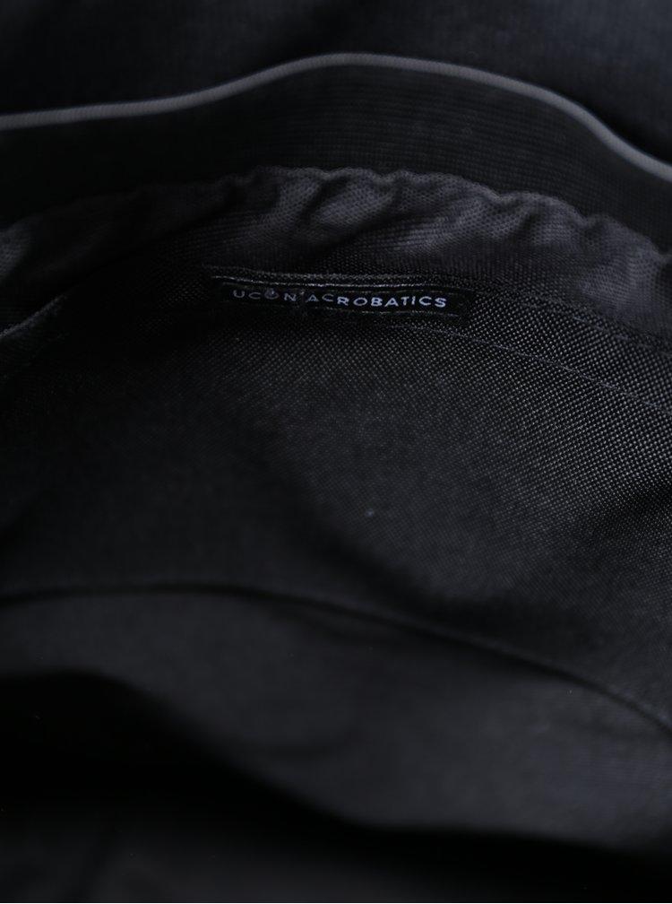 Rucsac negru impermeabil cu terminatie pliabila  UCON ACROBATICS Karlo 20 l