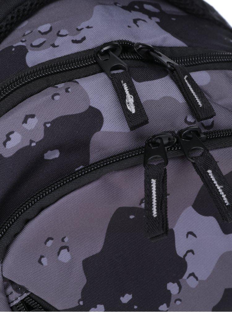 Šedo-černý maskáčový batoh NUGGET Rapid 26 l