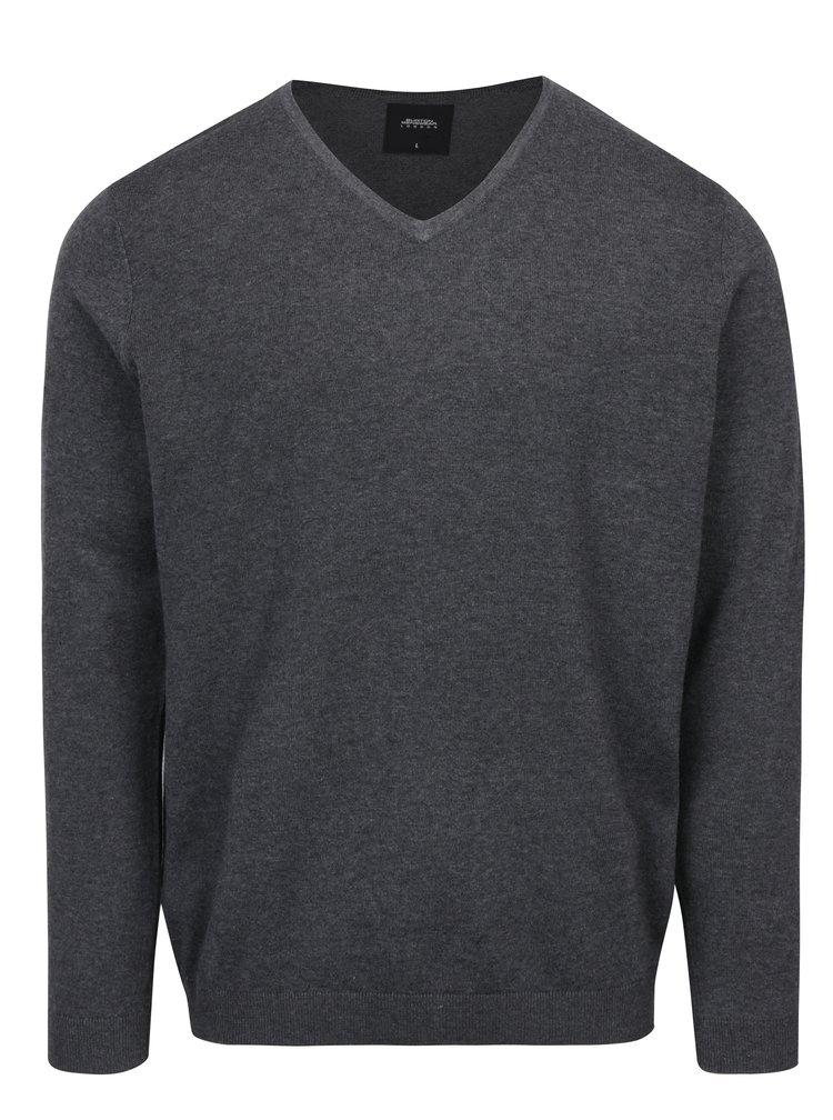 Pulover gri inchis barbatesc - Burton Menswear London