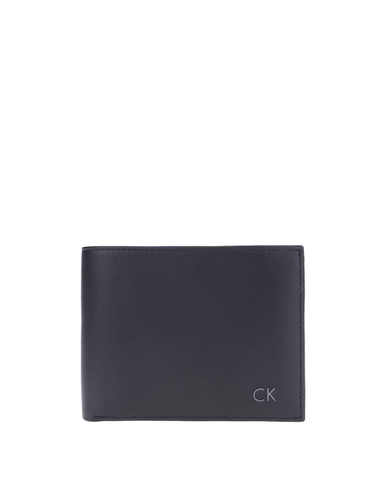 Černá pánská kožená peněženka Calvin Klein Jeans