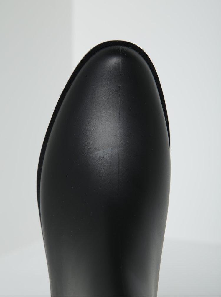 Ghetee negre cu insertie elastica - Zaxy London Boot II