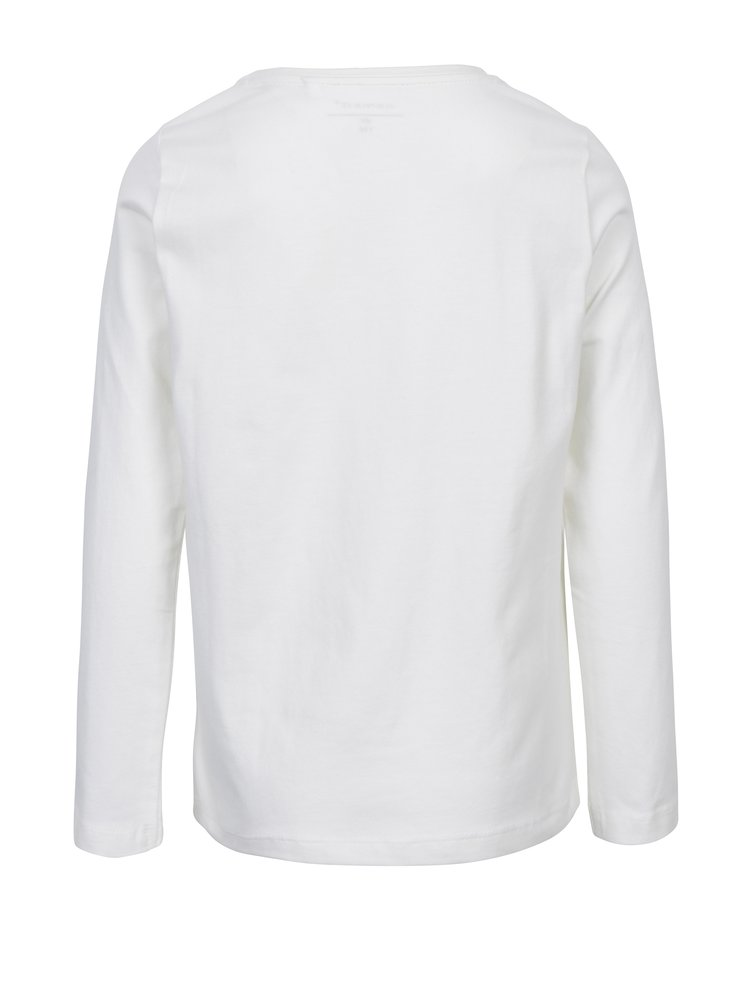 Krémové klučičí tričko s potiskem name it Vux