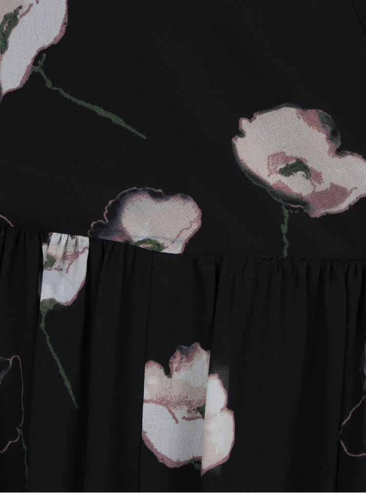 Rochie maxi cu imprimeu floral si decolteu in V - VERO MODA Mia