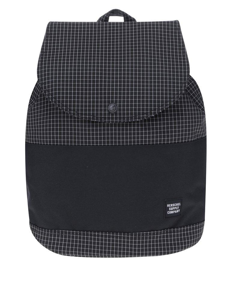 Černý kostkovaný batoh Herschel Reid 21 l