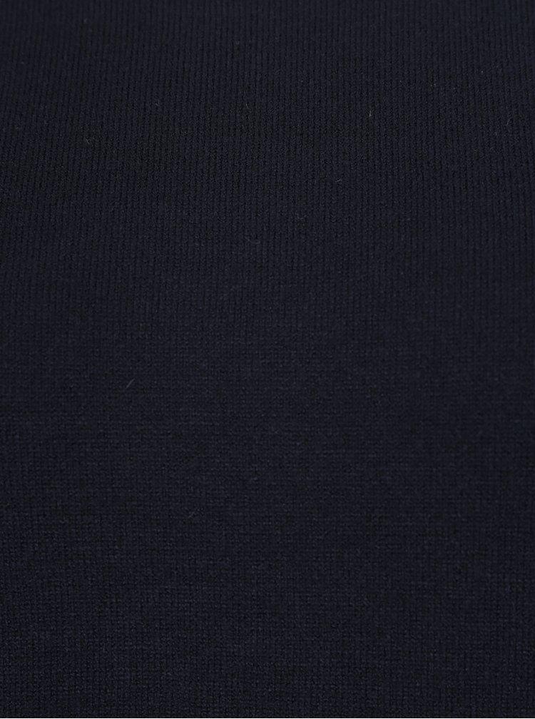 Černý lehký svetr s volány na rukávech VERO MODA Sky