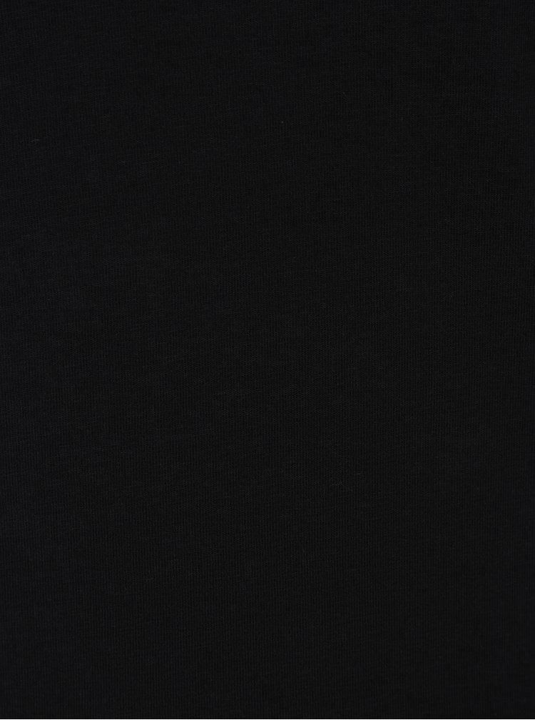 Bluză neagră cu choker - ONLY Live