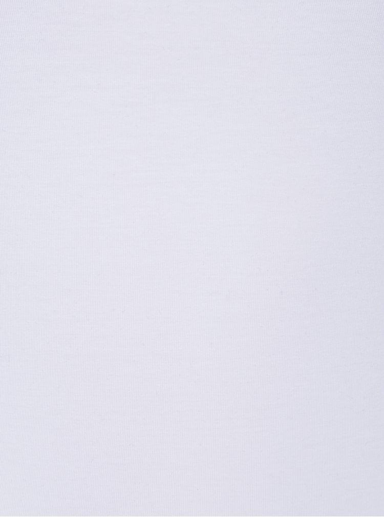 Set de 2 topuri basic alb & negru pentru femei - VERO MODA Maxi
