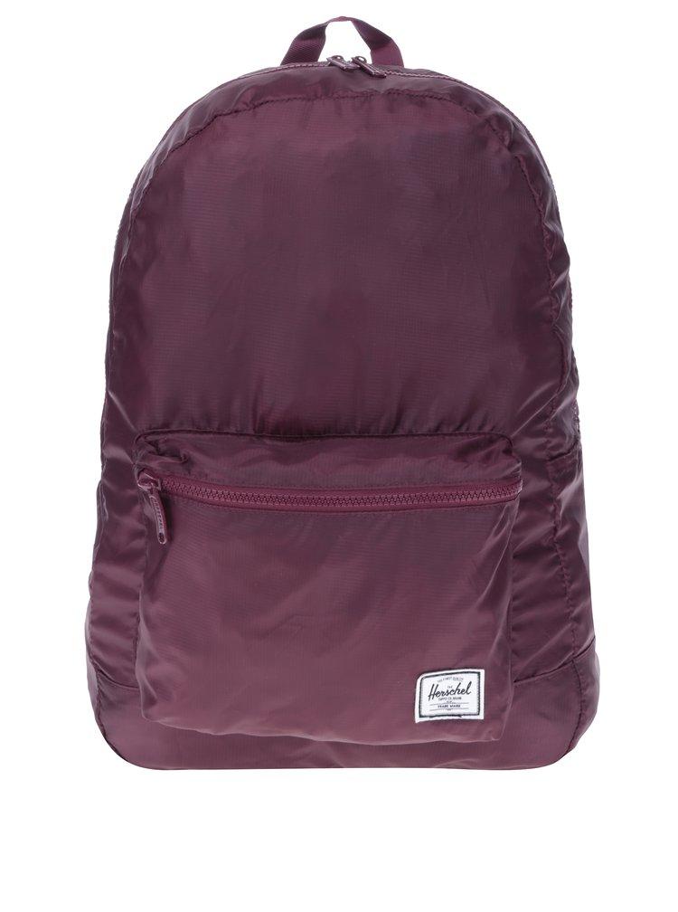 Vínový skládací batoh Herschel Packable 24,5 l