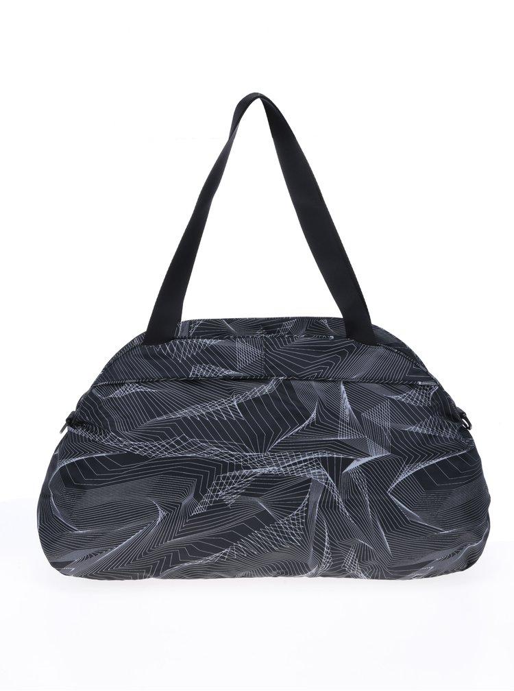 Černá sportovní vzorovaná taška Nike  Aura Print