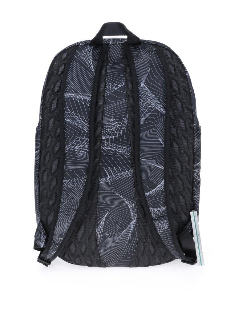 Černý vzorovaný voděodolný batoh Nike Auralux 26 l