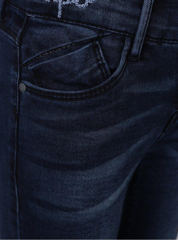 Tmavě modré holčičí skinny džíny name it Abirthe