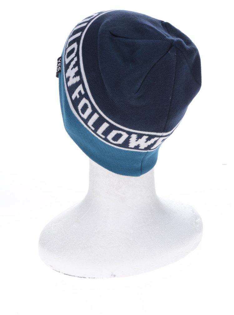 Petrolejovo-modrá klučičí čepice name it Manto