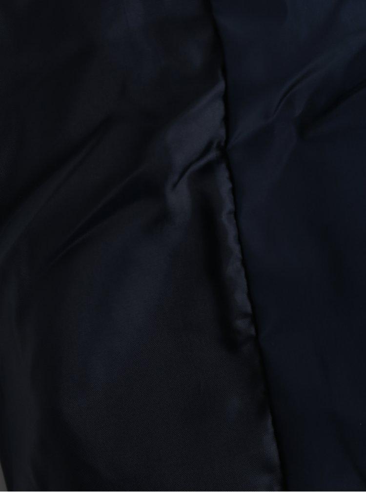 Geacă bleumarin matlasată cu glugă ascunsă  Dorothy Perkins Curve