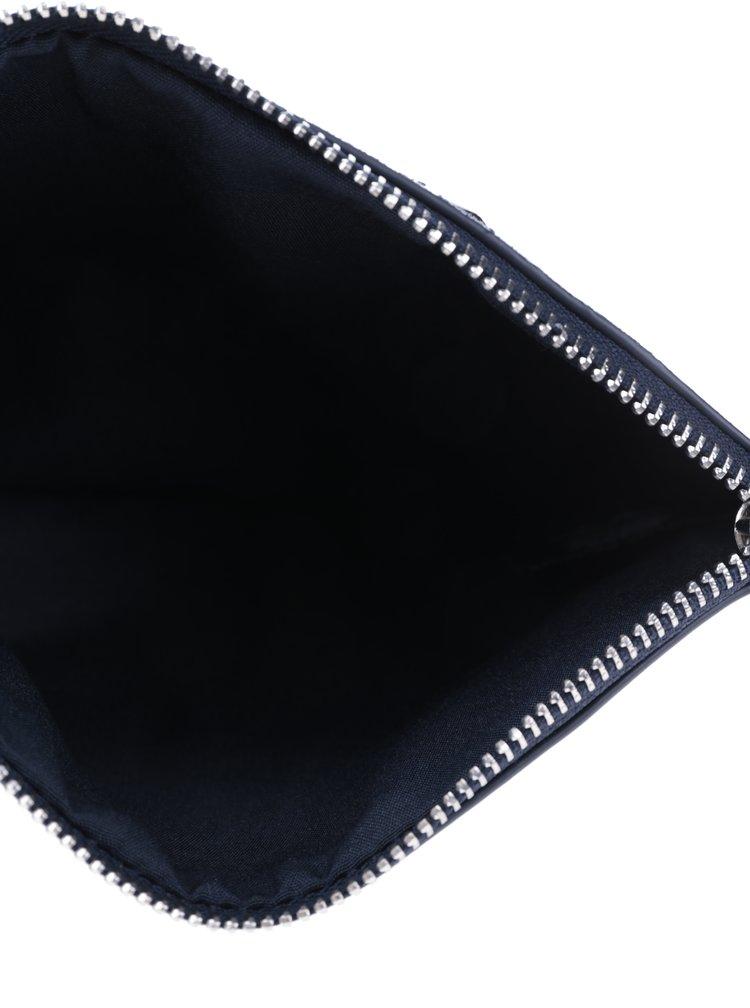 Tmavomodrá listová kabelka Dorothy Perkins