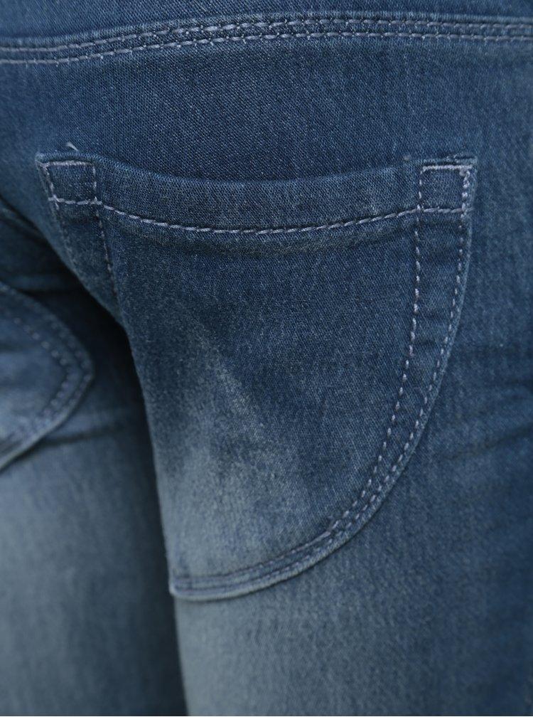 Modré holčičí džíny s potrhaným efektem Blue Seven