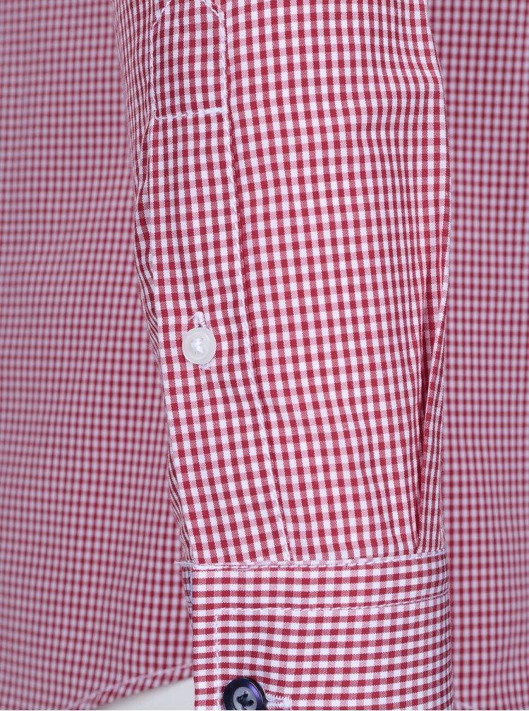 Červená pánská kostkovaná košile Jimmy Sanders