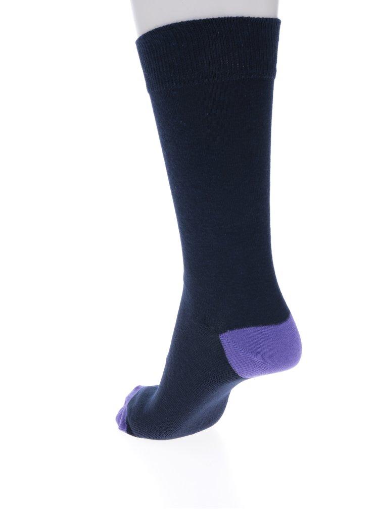 Sada sedmi párů pánských ponožek v tmavě modré barvě M&Co