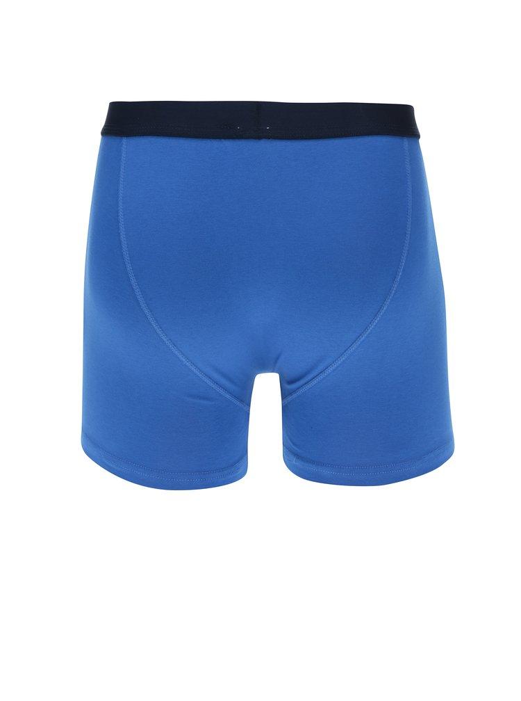 Set de trei boxeri multicolori in nuante de albastru M&Co